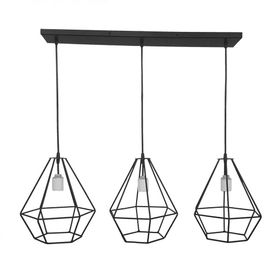 Colgante-Venzar-Linea-Diamante-3-Luces-9538COHI3