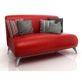 Sillon-American-Wood-Paris-2-cuerpos-Rojo