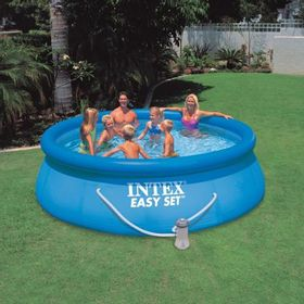 PILETA-INFLABLE-INTEX-EASY-SET-CON-BOMBA-FILTRANTE