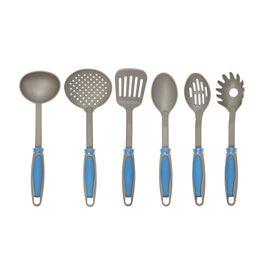 Set-X6-de-Utensilios-de-Nylon-Para-Cocina-Mango-Azul