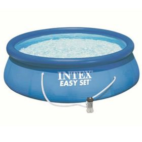 PILETA-INFLABLE-INTEX-EASY-SET-CON-BOMBA-FILTRANTEPILETA-INFLABLE-INTEX-EASY-SET-CON-BOMBA-FILTRANTE