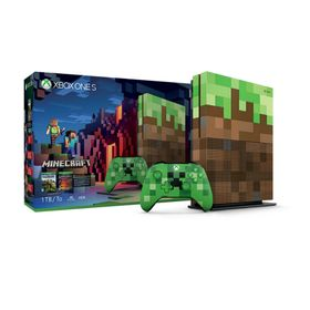 Consola-Xbox-One-S-Microsoft-Minecraft-Edicion-Limitada