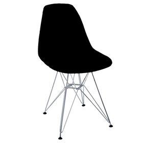 Silla-Eames-Garden-Life-con-Patas-Cromadas-y-Estructura-de-Madera-Color-Negro