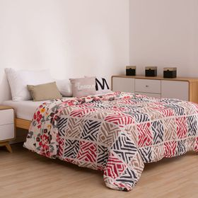 cubrecama-plata-2-1-2-plazas-rayas-rojo-y-negro-50030519