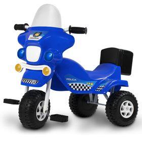 Triciclo-Kuma-Policia-Azul