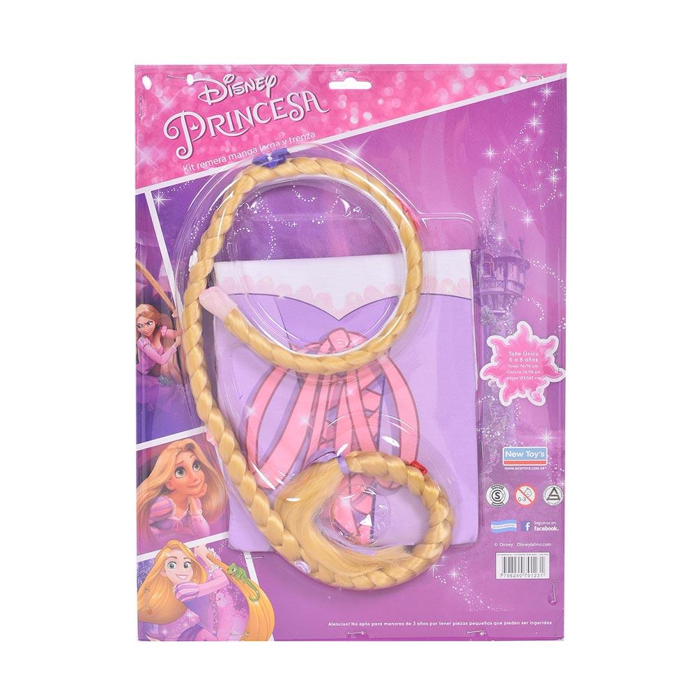 Kit-de-remera-manga-larga-y-trenza-Disney-Rapunzel