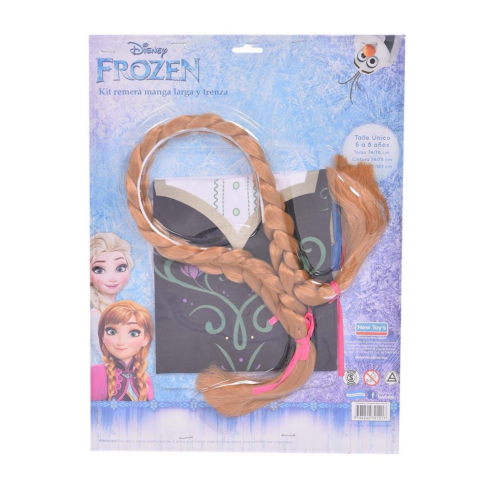 Kit-de-remera-manga-larga-y-trenza-Anna-frozen