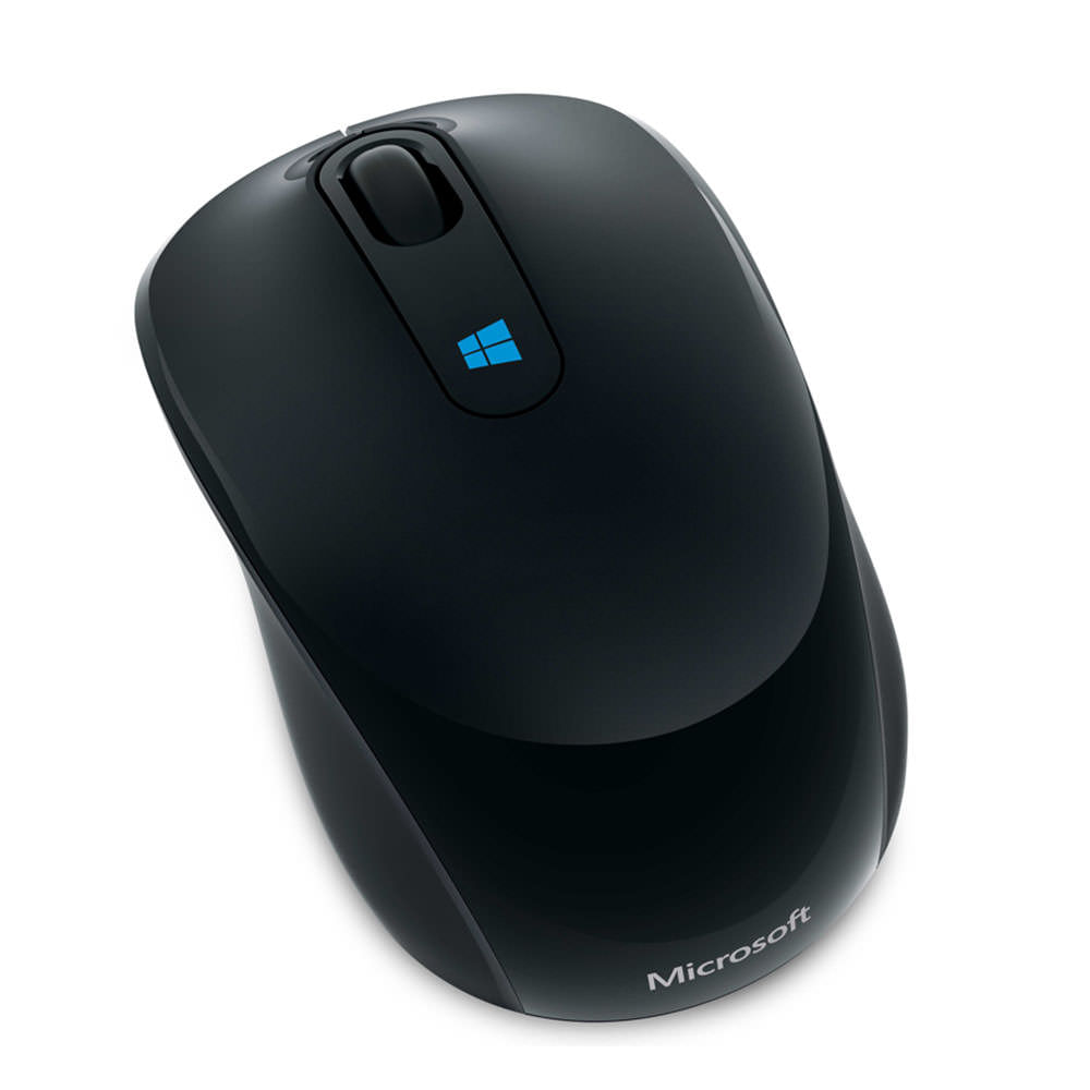 Mouse-Microsoft-Sculp-Negro
