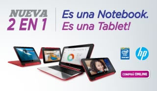 Notebook / Tablet - HP 2 EN 1