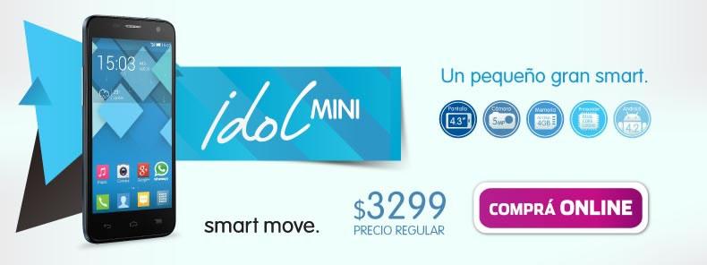 Celular Libre Alcatel Idol Mini