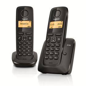 TELEFONO-INALAMBRICO-GIGASET-A120DUO--BLACK-