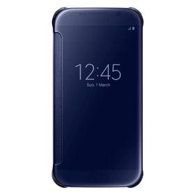 Funda-Samsung-Clear-View-Cover-para-Galaxy-S6-Negra