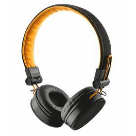 Auriculares-Trust-Fyber-Negro-Naranja