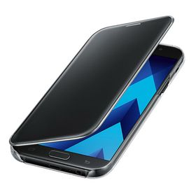 Funda-Samsung-Clear-View-Cover-Negro-para-Galaxy-A7
