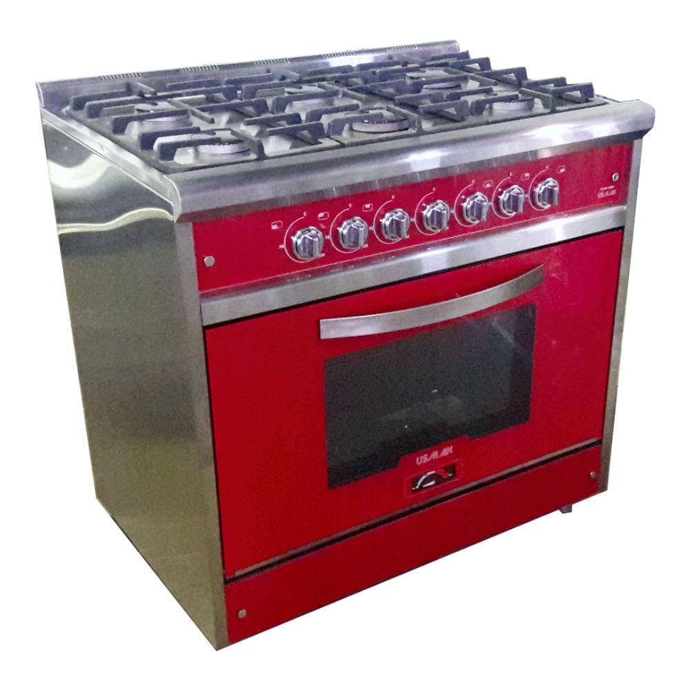 Cocina-Profesional-Usman-Red-Wine-900-90CM