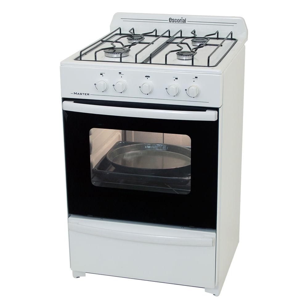 Cocina escorial master 56cm fravega for Cocina de gas profesional