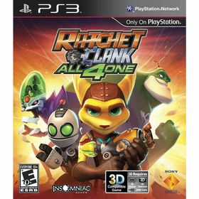 Juego-PS3-Sony-Ratchet--Clank-All-4-One