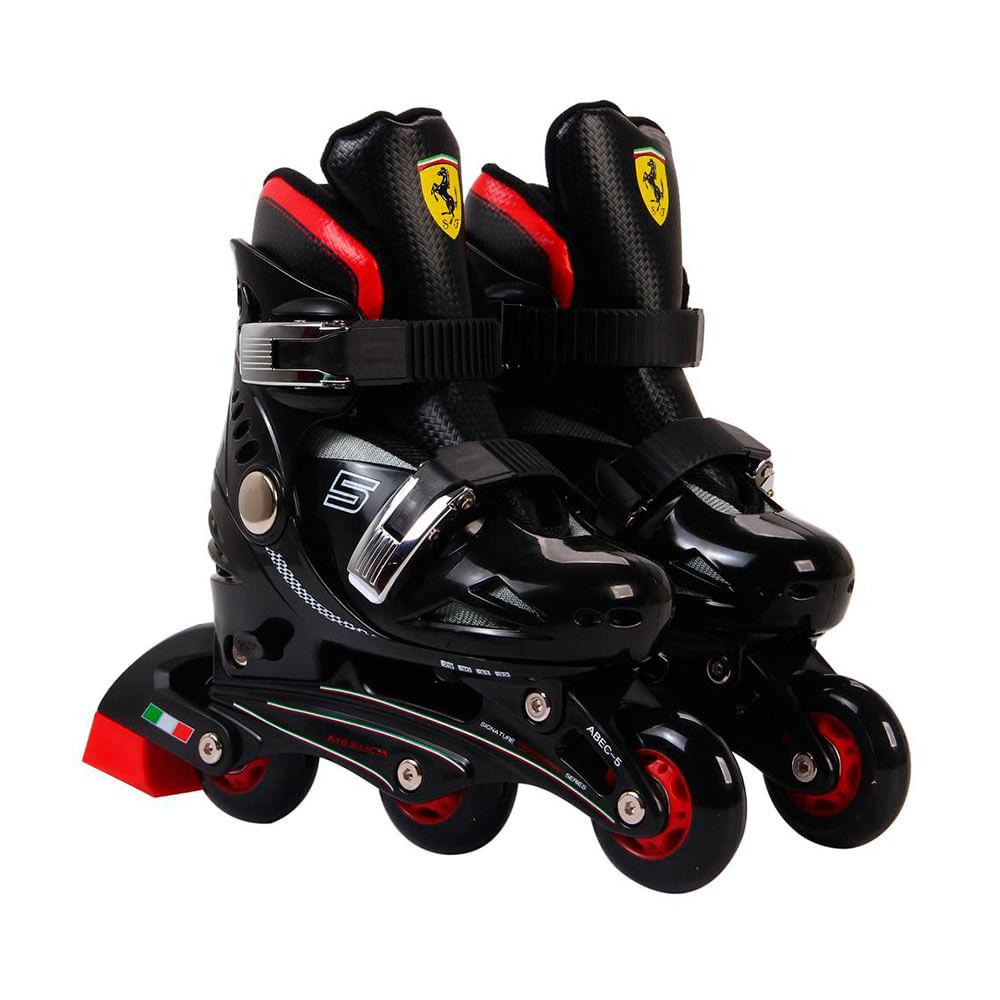 Rollers-Ferrari-Kids-Negro