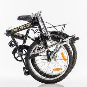 Bicicleta-Futura-Origami-Plegable-Rodado-20-Color-Negro