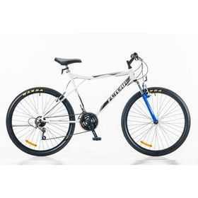 Bicicleta-Futura-Techno-MTB-Rodado-26-Hombre-con-Suspension-Color-Blanco