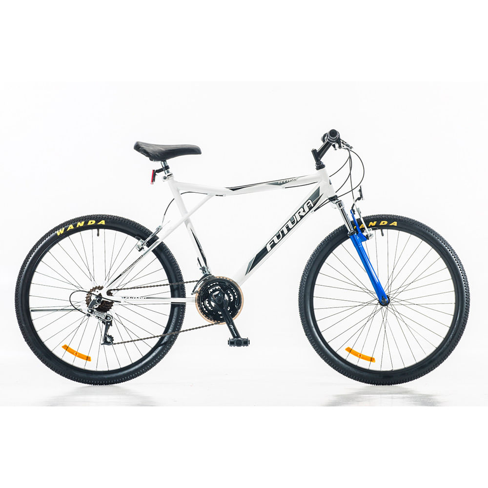 Bicicleta-Futura-Techno-MTB-Rodado-26-Hombre-con-Suspension-Color-Blanco