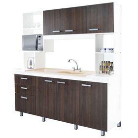 Modulo-para-cocina-Platinum-30150-Tabaco-y-blanco