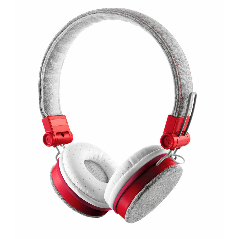 Auriculares-Trust-Fyber-Rojo-Gris