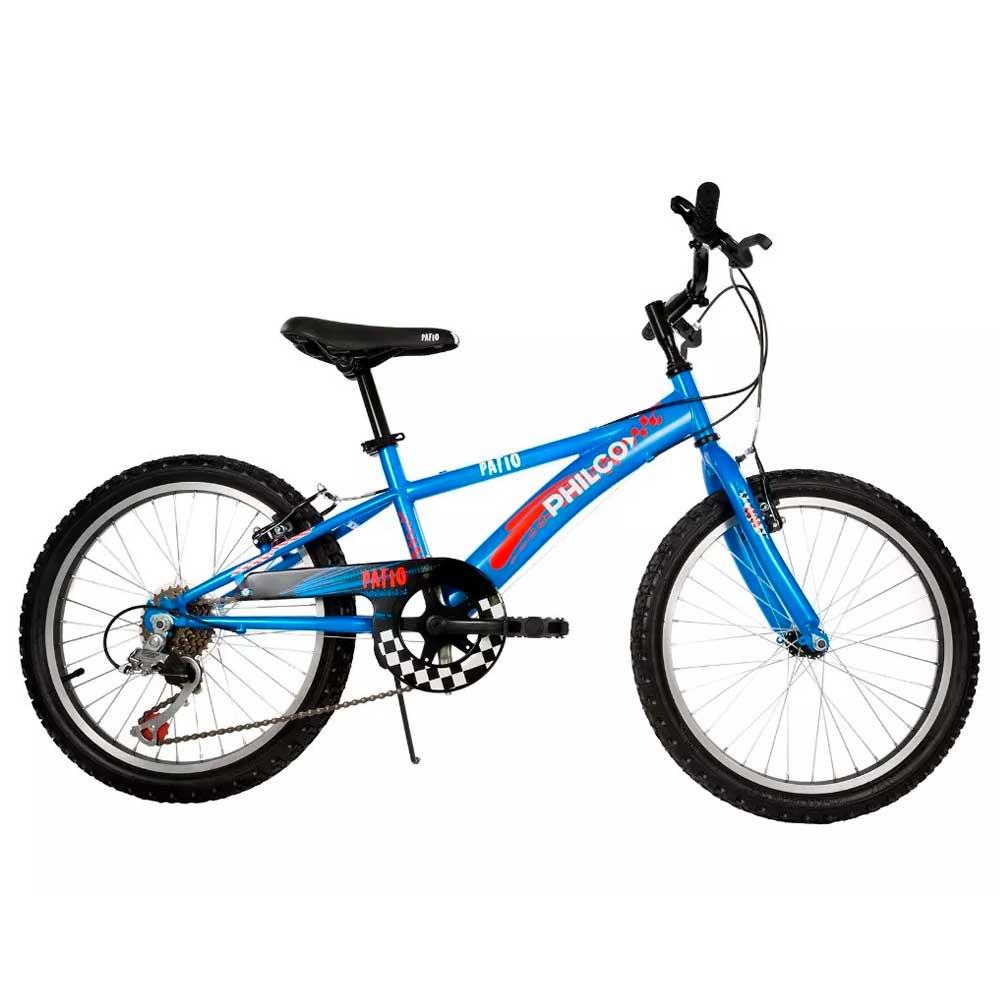 Bicicleta-Infantil-Rodado-20--6-Velocidades-Philco-Patio-Azul-560150