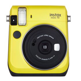 Camara-Fuji-Instax-Mini-70-Yellow