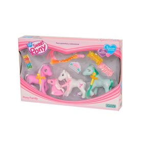 Muñecos-The-Sweet-Pony-Mini-Family-de-Ditoys-350021