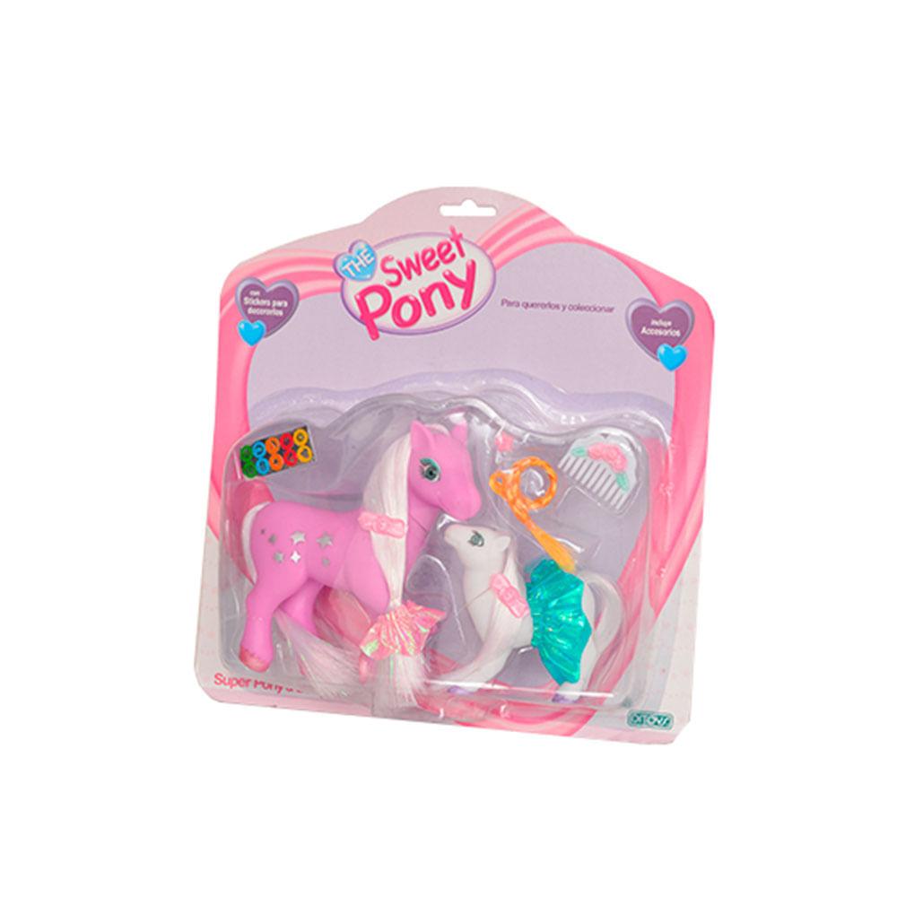Muñeco-The-Sweet-Pony-Grande-con-Hijo-Ditoys-350056