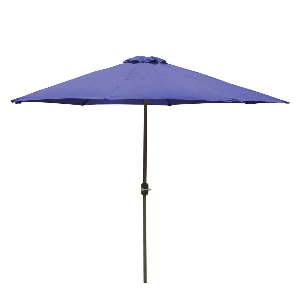 Sombrilla-de-3M-Diametro-de-Polyester-Azul-10009491