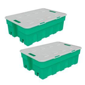 Combo-de-Cajas-Organizadoras-Roller-Box-30-Lts-x-2-Unid-Verde-10008467