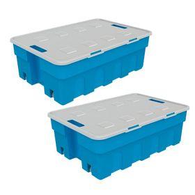 Combo-de-Cajas-Organizadoras-Roller-Box-30-Lts-x-2-Unid-Azul-10008476