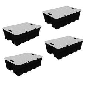 Combo-de-Cajas-Organizadoras-Roller-Box-30-Lts-x-4-Unid-Negro-10007764