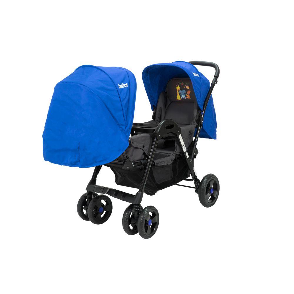 b9779d784 Cochecito de bebé Bebitos BE 758 Azul Para mellizos