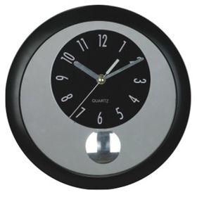 reloj-de-pared-con-pendulo-aro-negro-25-cm-10010546