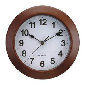 reloj-de-pared-de-madera-caoba-25-cm-10010565