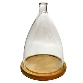 campana-de-cristal-con-base-de-madera-mediana-30-cm-10010451
