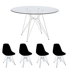 combo-mesa-de-vidrio-90-cm-con-4-sillas-eiffel-negras-10010365