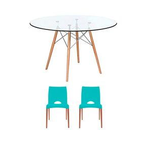 combo-mesa-eames-de-vidrio-90-cm-2-sillas-cannes-verdes-10008733