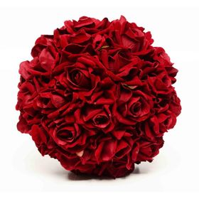 Planta-Decorativa-Esfera-Rosas-Bordo-Velvet-Burgundy-Artificial-25-cm-10010454