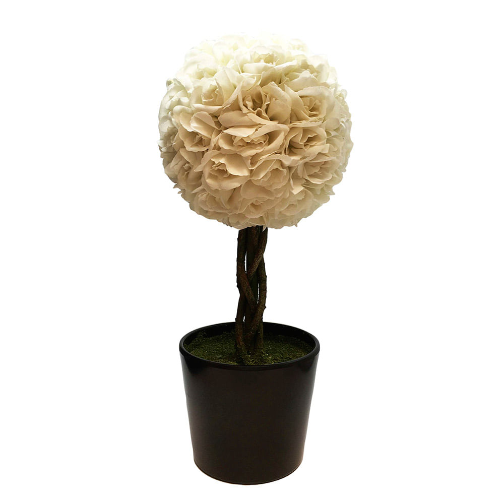 Planta-Decorativa-Topiario-Esfera-Rosas-Blancas-Artificial-48-cm-10010512