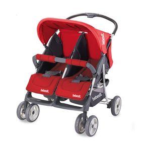 coche-para-mellizos-bebesit-fratello-rojo-negro-10013087