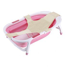 banera-bebe-plegable-con-adaptador-red-reductora-rosa-10014380