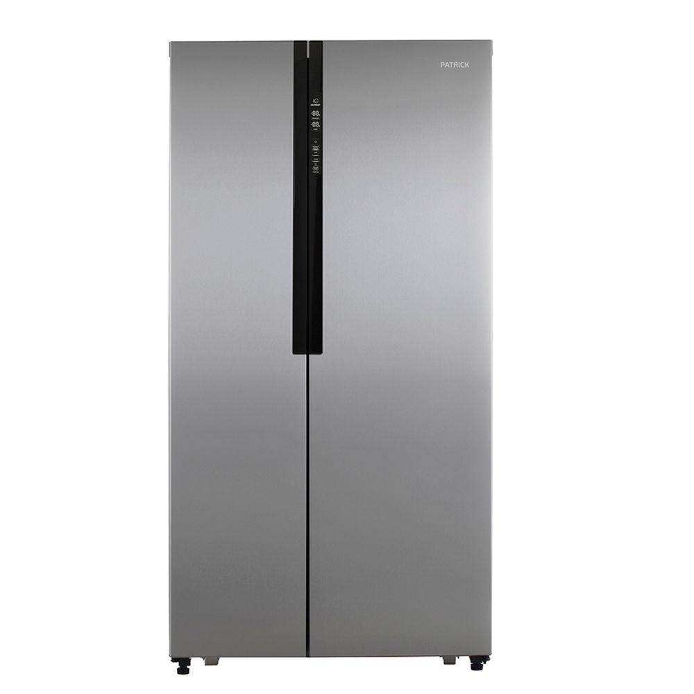 Heladera-con-Freezer-No-Frost-521L-Inox-Patrick-SBSPK521I-10010095