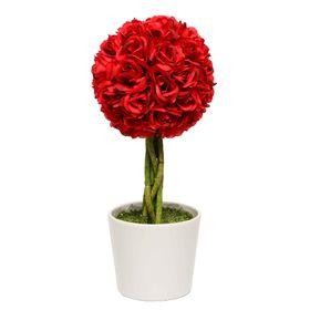 Planta-Decorativa-Topiario-Esfera-Rosas-Rojas-Artificial-48-cm-10010552