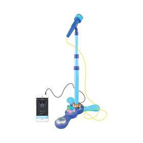 microfono-de-pie-con-luz-y-conexion-mp3-love-7355-color-celeste-10008250