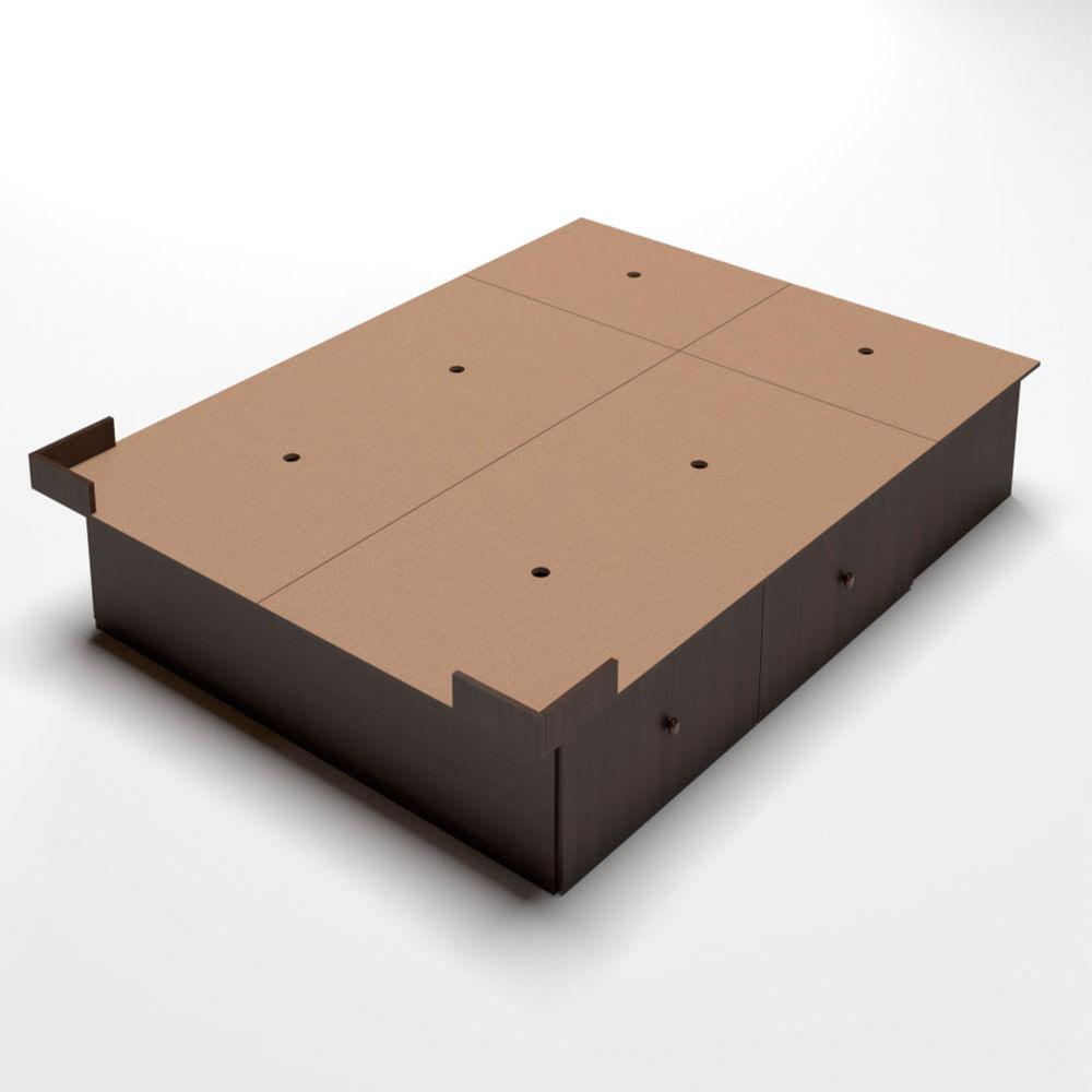 base-sommier-con-4-cajones-y-2-bauleras-190-x-160-cm-color-wengue-10009284