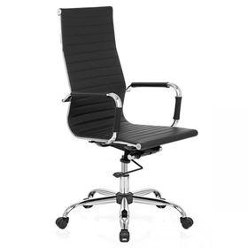 silla-aluminium-alta-cuero-negro-pack-x-2-unidades-50001556